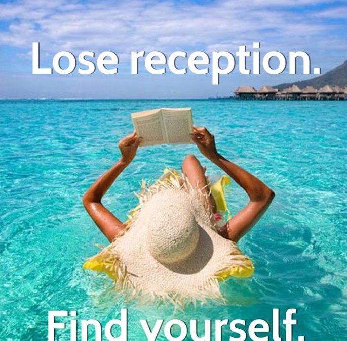 Lose Reception. Find Yourself.